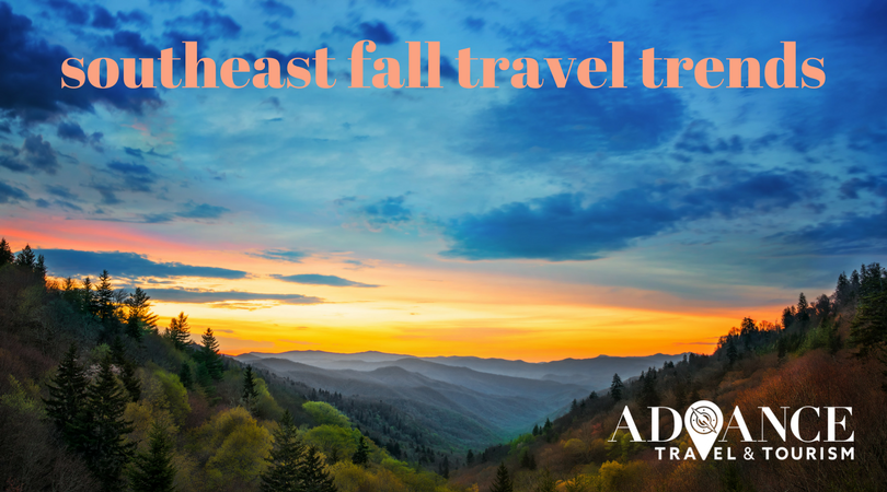 Southeast Fall Travel Trends 2017