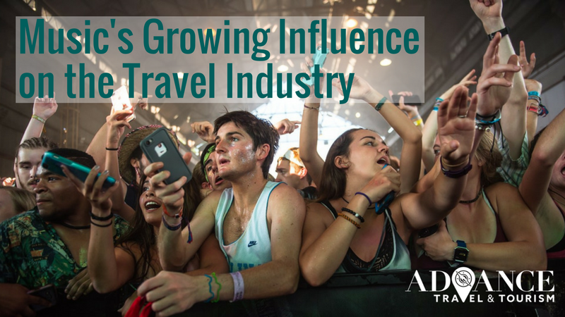 MUSIC'S GROWING INFLUENCE ON THE TOURISM INDUSTRY