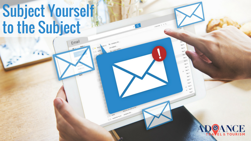 SUCCESSFUL EMAIL MARKETING PART 2: SUBJECT YOURSELF TO THE SUBJECT