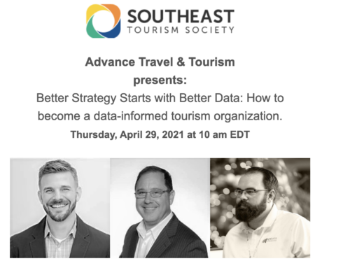 STS x Advance Travel & Tourism Webinar: Becoming a Data-Informed Tourism Organization