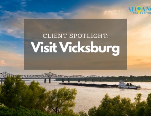 Client Spotlight: Laura Beth Strickland of Visit Vicksburg